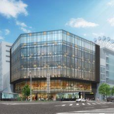 日本生命栄ビルの完成予想図イメージ