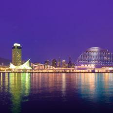 兵庫県の代表都市神戸市の夜景
