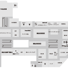 無印良品直江津のフロアマップ