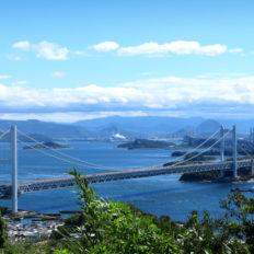 香川県の瀬戸大橋の風景写真