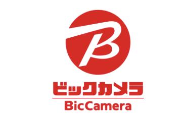 JR熊本白川ビルの注目テナント店舗「ビックカメラ」のロゴ