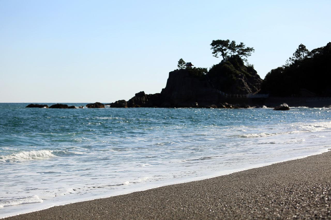 高知県の砂浜の風景写真