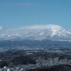 岩手県の岩手山の風景写真