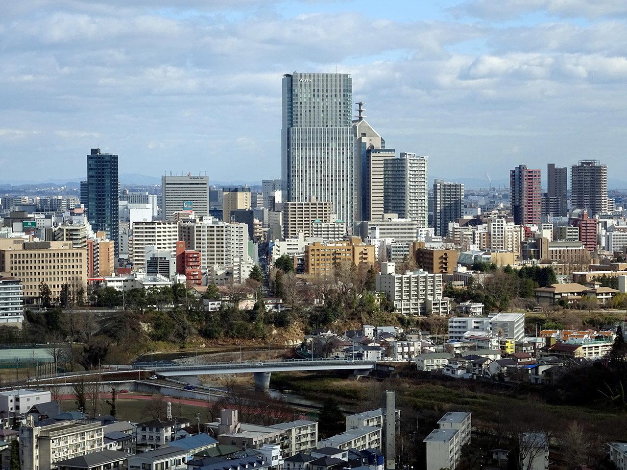宮城県の県庁所在地仙台市の風景写真