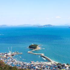福山市鞆町の風景写真