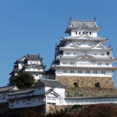 姫路市の姫路城の風景写真