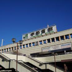 宇都宮市の宇都宮駅周辺の風景写真