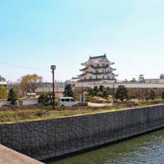 尼崎市の尼崎城の風景写真