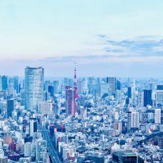 東京都心の風景写真