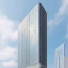 ⻁ノ門一丁目東地区第一種市街地再開発事業の完成予想図イメージ