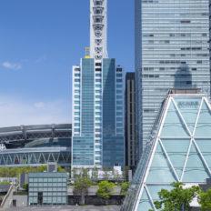 埼玉県のさいたま新都心の風景写真