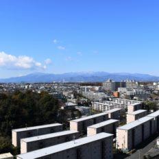 町田市の町並みの風景写真