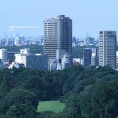 パークコート神宮北参道 ザ タワーの完成予想図イメージ