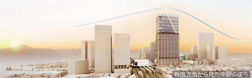 中野サンプラザシティの完成予想図4