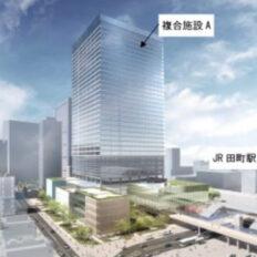 東工大田町キャンパス建て替え再開発の完成予想図