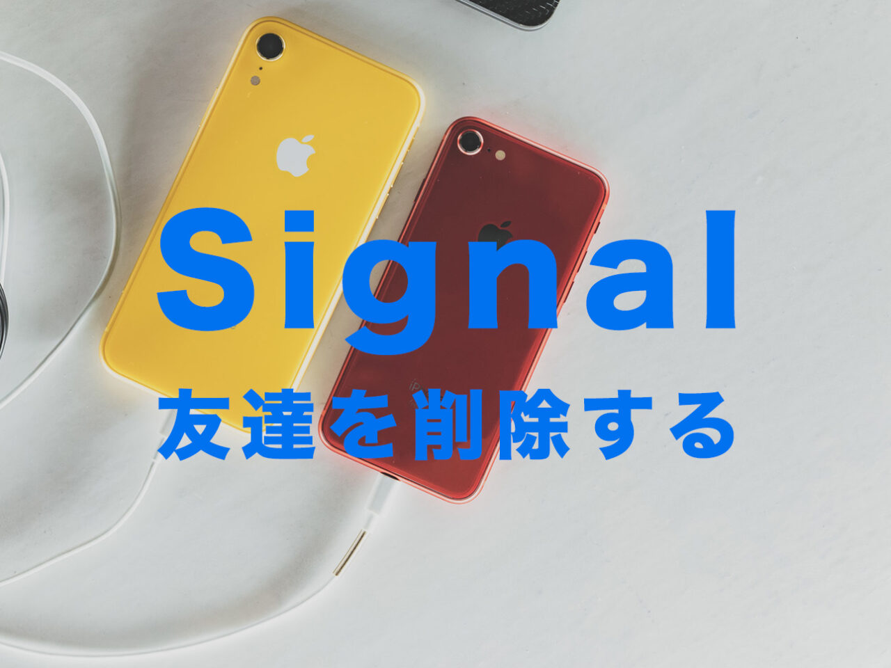 Signal(シグナル)で友達を削除する方法&やり方はある?【メッセージアプリ】のサムネイル画像
