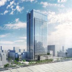 東京ミッドタウン八重洲の完成予想図イメージ