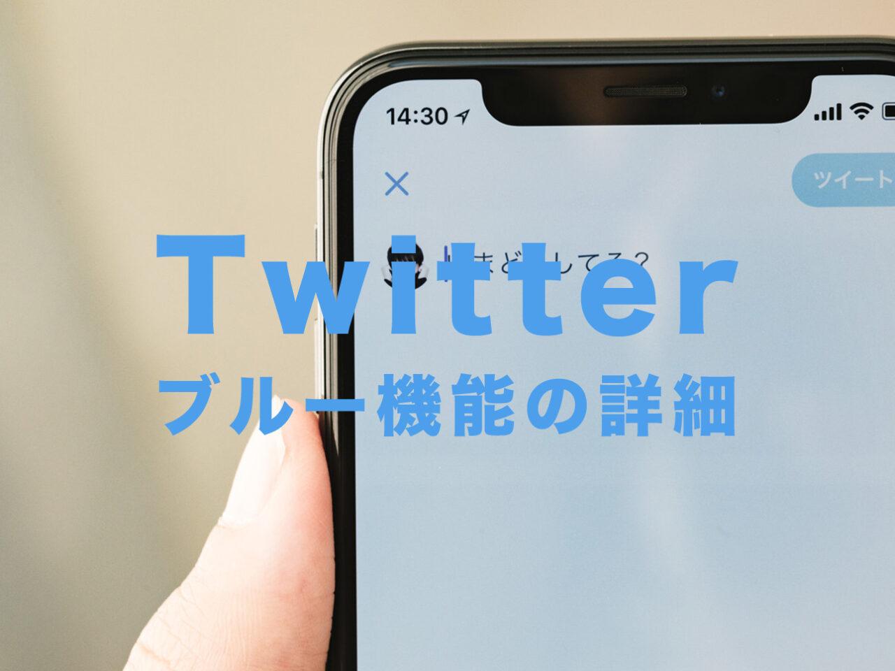 Twitterのブルー機能って何?有料化する?いつから?【有料版&サブスク会員型のツイッター】のサムネイル画像