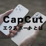 CapCut(キャップカット)のエクスポートとは?意味はなに?どんな機能?