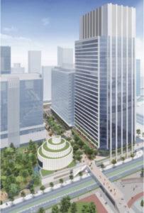 みなとみらい52街区の大和ハウス工業等による超高層オフィスビル計画